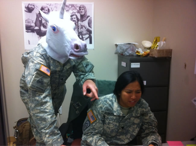 Funny Military Pictures - What We Do On Our Day Of (5)