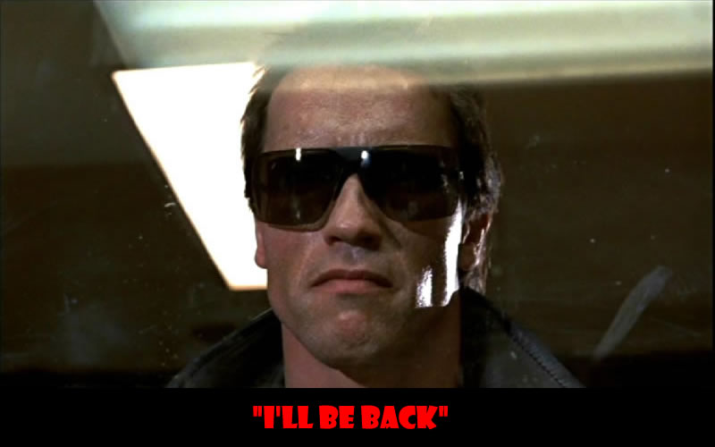 I'll be back - 50 Of The Greatest Film Quotes Of All Time