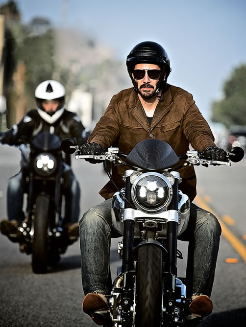 Keanu Reeves Starts Up Company Making Motorcycles 2