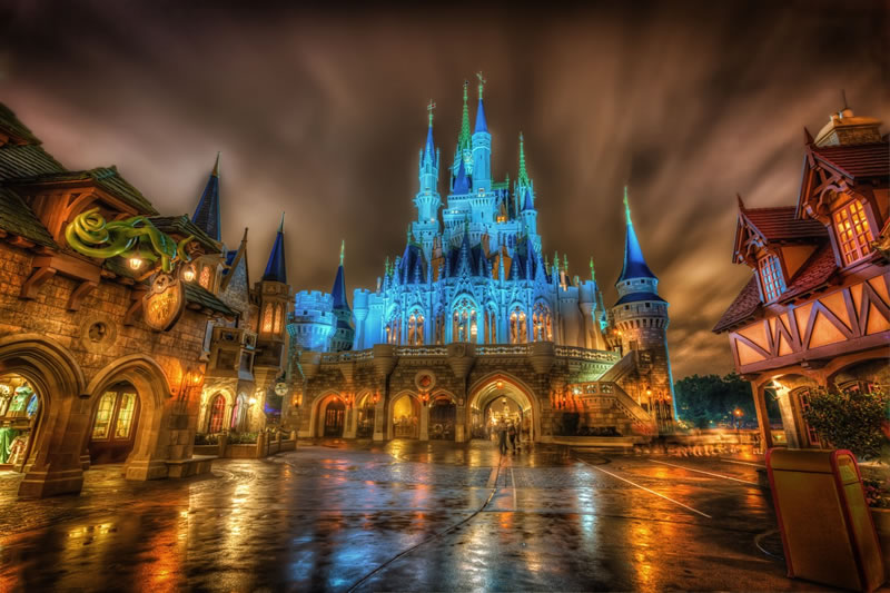Magic Kingdom - Most Visited Amusement Parks In The World