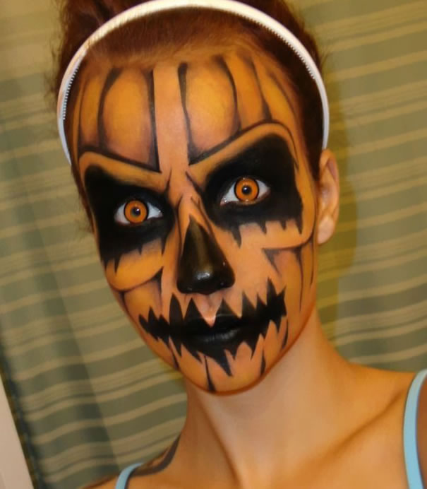 Scariest Halloween Make-up Ideas Face Off (10)