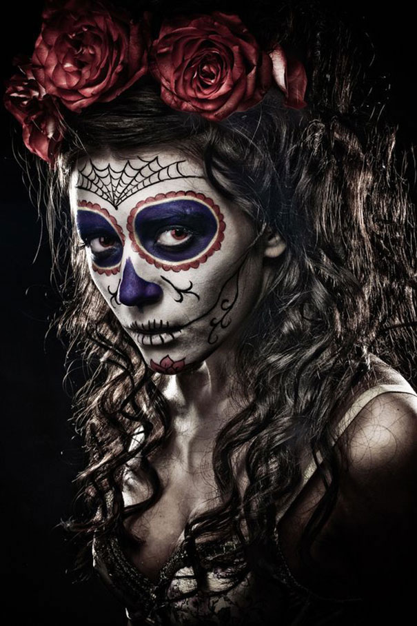 Scariest Halloween Make-up Ideas Face Off (11)