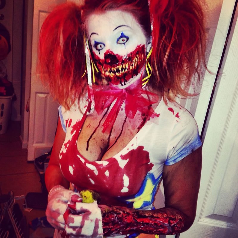 Scariest Halloween Make-up Ideas Face Off (16)