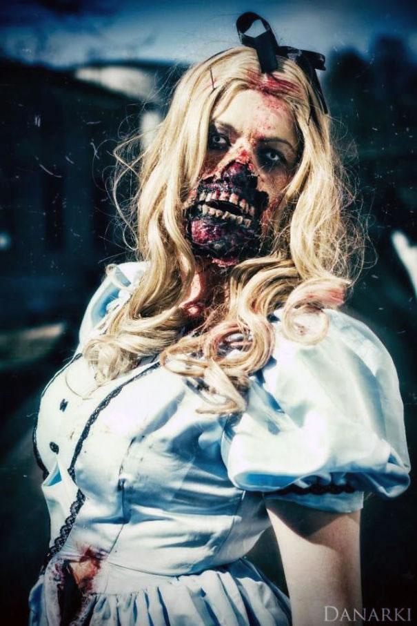 School Girl Zombie Halloween Costume