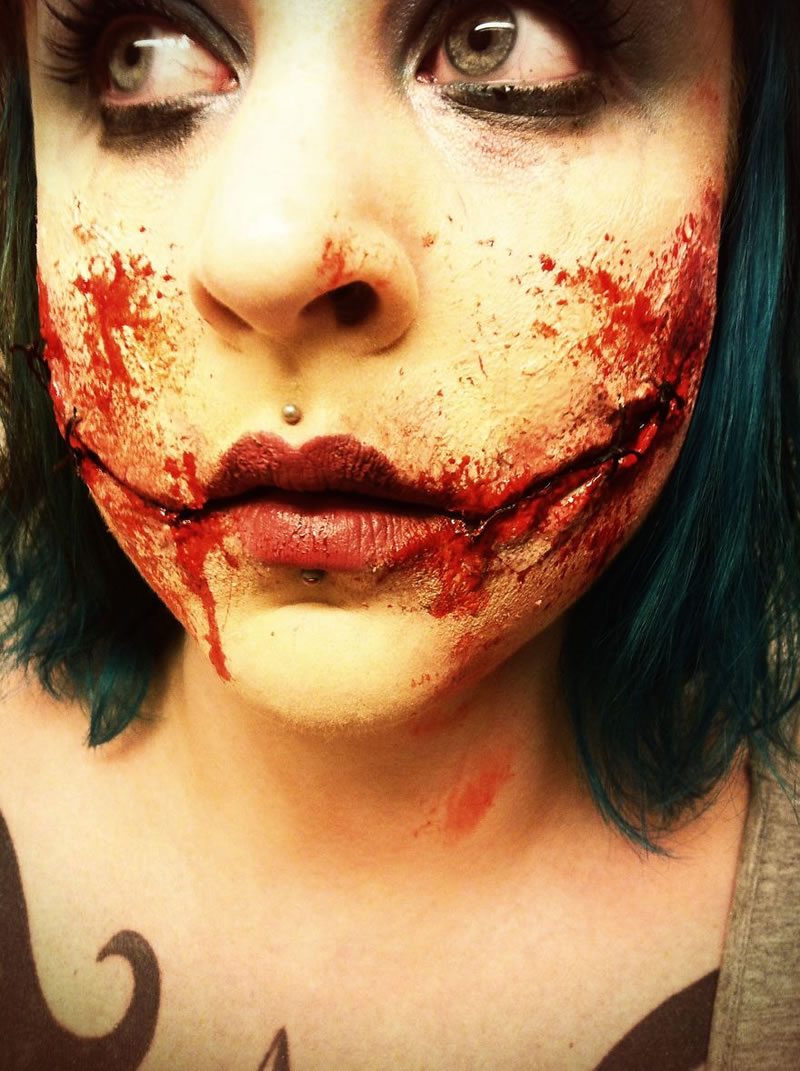Scariest Halloween Makeup Ideas Face Off (1)