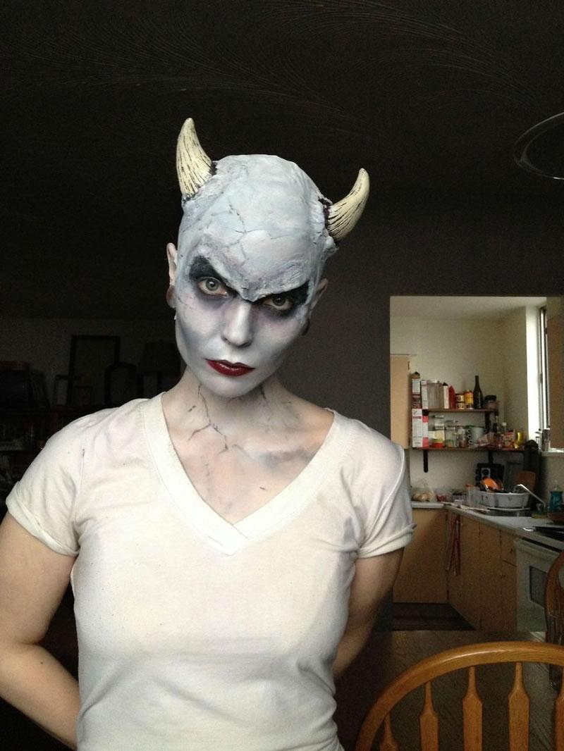 Halloween Makeup Devil And Angel.25 Scariest Halloween Makeup Ideas Face Off