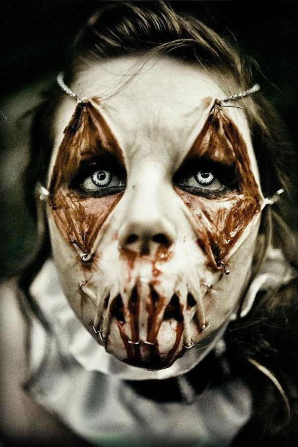 Scariest Halloween Makeup Ideas Face Off (3)
