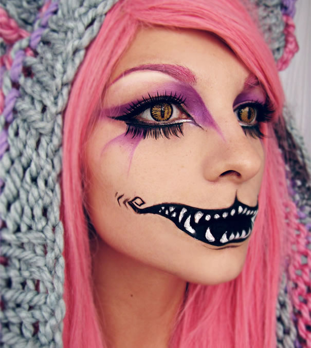 Scariest Halloween Makeup Ideas Face Off (5)