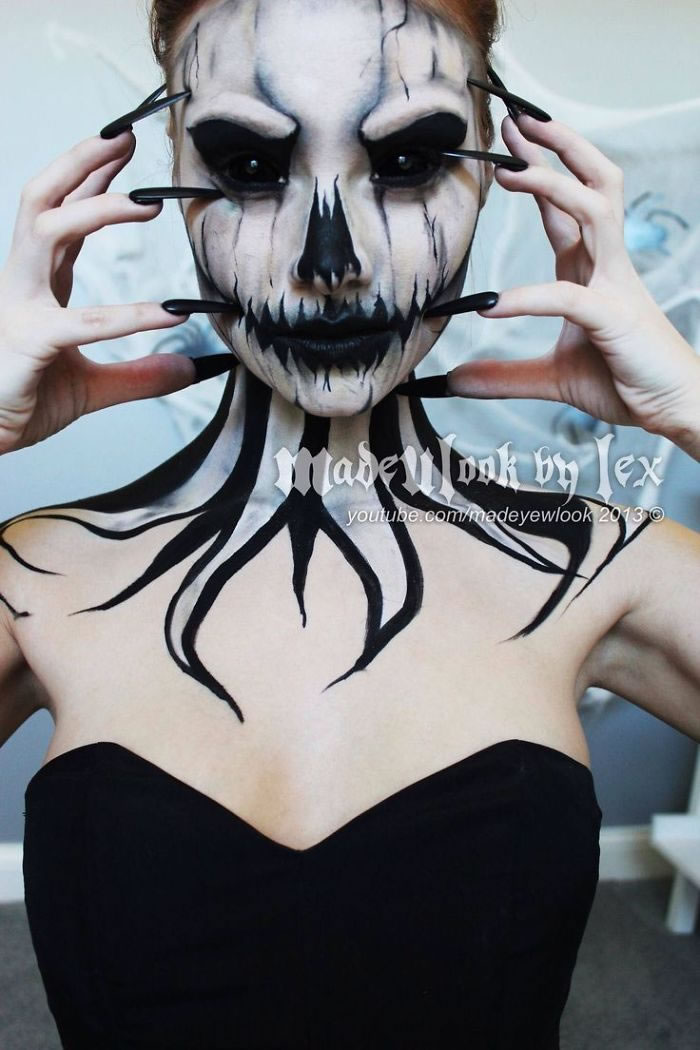 Scariest Halloween Makeup Ideas Face Off (9)