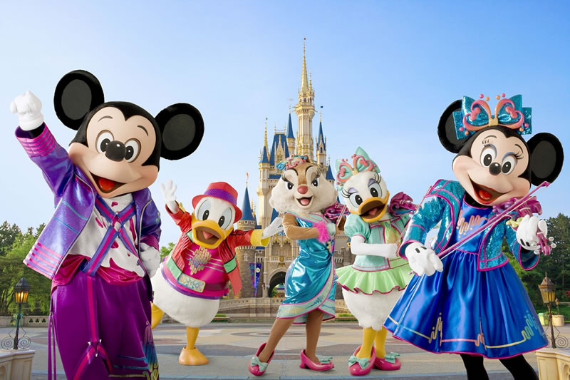 Tokyo Disneyland - Most Visited Amusement Parks In The World