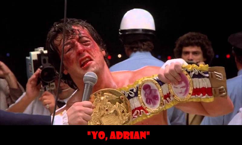 Yo, Adrian