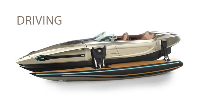 awesome luxury boat is a floating transformer that you'd love to own 9