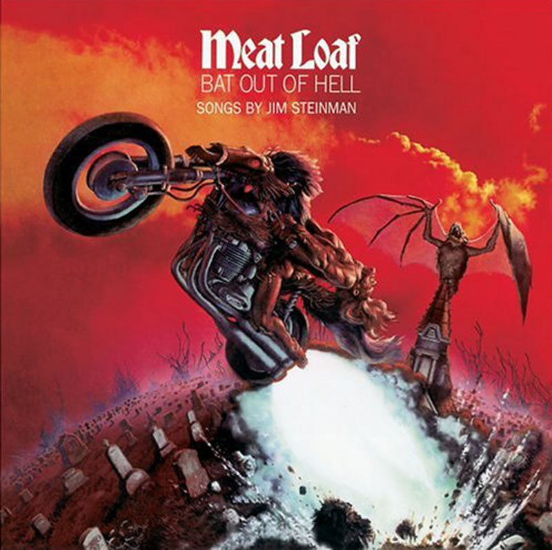 10 meat loaf bat out of hell - Top 10 Selling Music Albums Of All Time