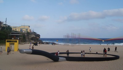 Giant Abstract Sculptures Take Over Bondi Beach