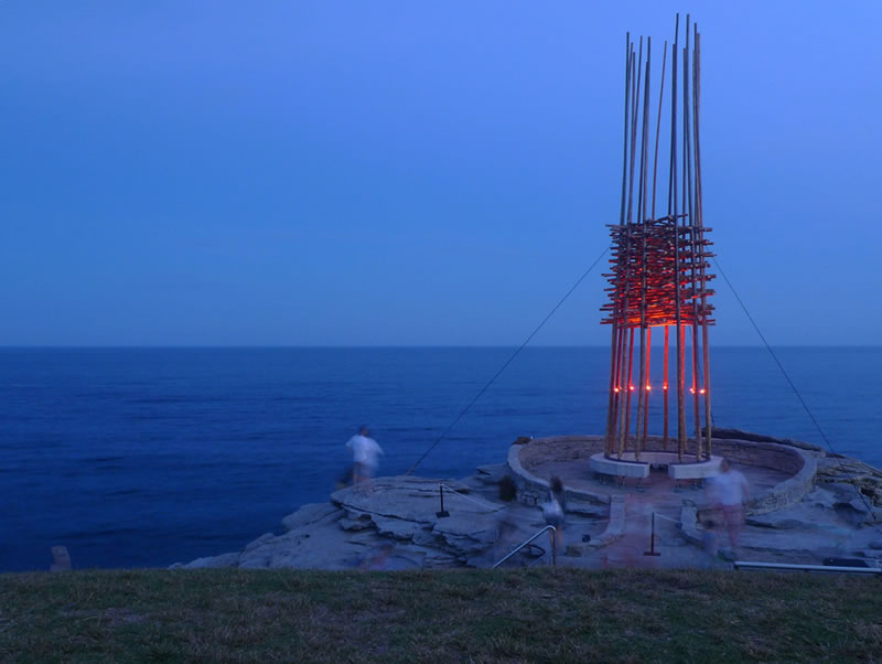 Giant Abstract Sculptures Take Over Bondi Beach (6)