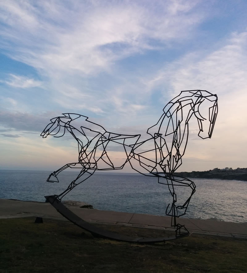 Giant Sculptures Take Over Bondi Beach (7)