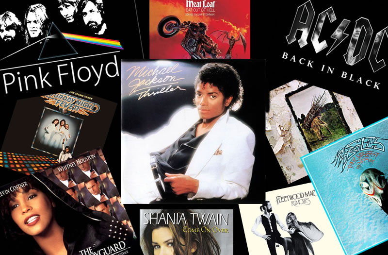 Top 10 Selling Music Albums Of All Time 1