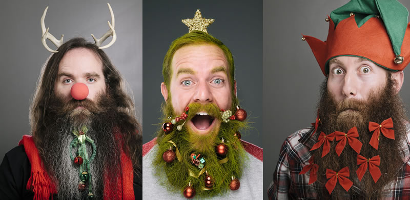 1 The Twelve Days Of Crazy Beards Christmas Countdown