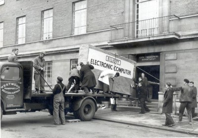 This Is How They Delivered A Computer In 1957 (1)