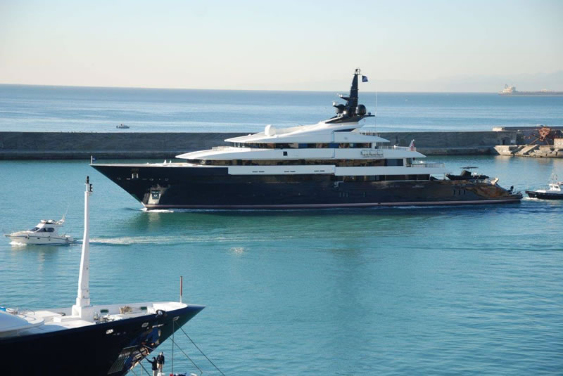 top 5 yachts in the world