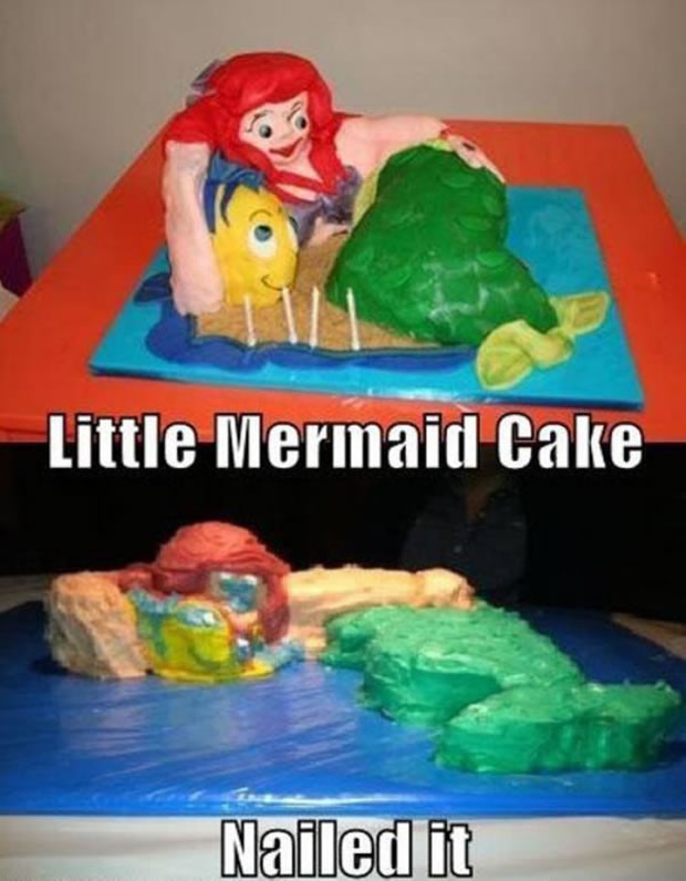 20 Disney Decorated Cakes That Never Had A Happy Ending 12