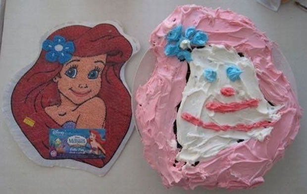 20 Disney Cakes That Never Had A Happy Ending 13