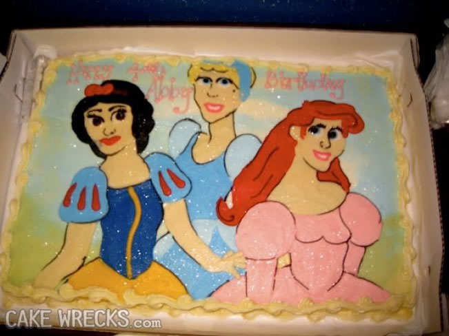20 Disney Decorated Cakes That Never Had A Happy Ending 19
