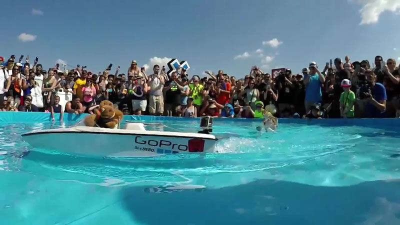 Meet The Adorable Squirrel That Loves To Water Ski 4