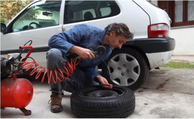 How To Use An Air Compressor >> How To Use An Air Compressor To Fill Up A Flat Tire