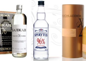 Top 10 Strongest Alcoholic Drinks In The World