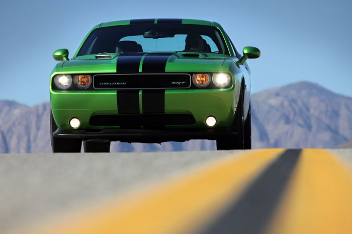 New Dodge Challenger Green Envy Edition Pictures And Info