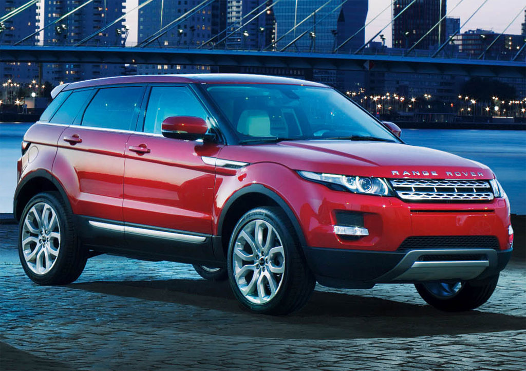 land rover unveils 5 door range rover evoque. Black Bedroom Furniture Sets. Home Design Ideas