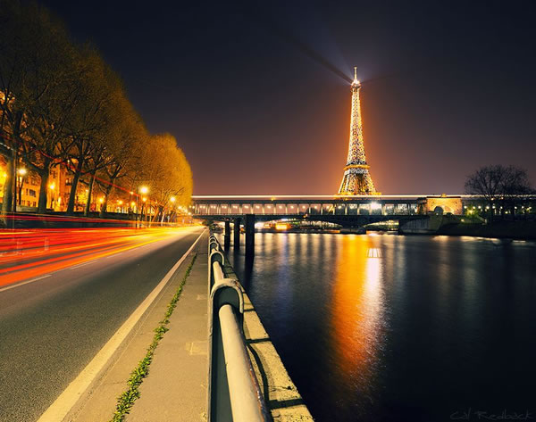 15 amazing photos of paris france at night. Black Bedroom Furniture Sets. Home Design Ideas