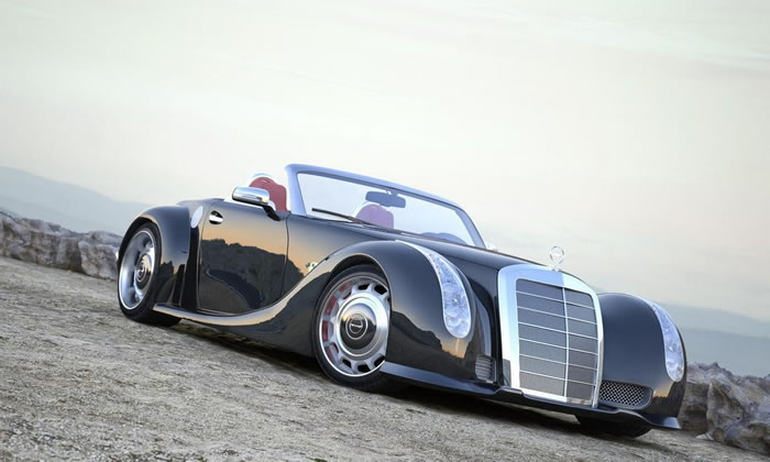 Excalibur Auto Body >> Gullwing America GWA 300 SLC Pictures And Details