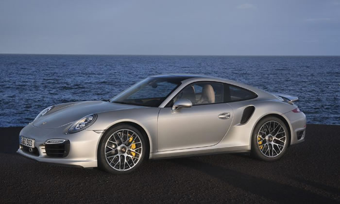 Porsche Turbo S on Power Steering Clutch