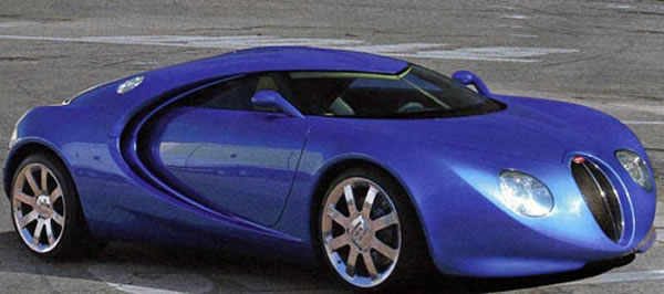 This Is What The Bugatti Veyron Almost Looked Like