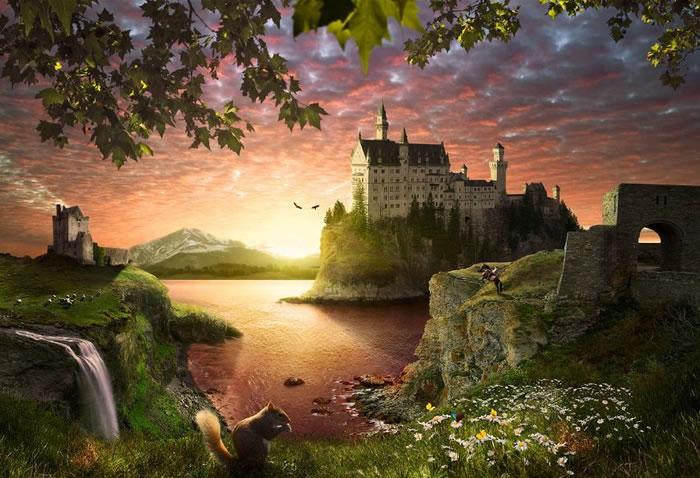 10 Amazing Beautiful Fairytale Castle Pictures