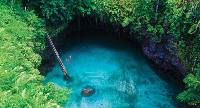 Sua Trench, Samoa