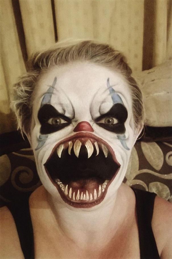 Scariest Halloween Make-up Ideas Face Off (13)