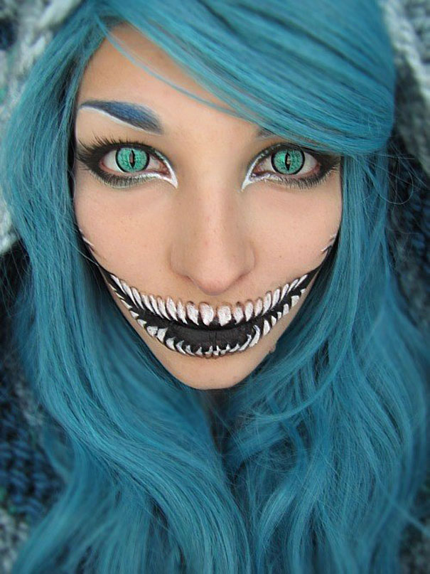Scariest Halloween Make-up Ideas Face Off (14)