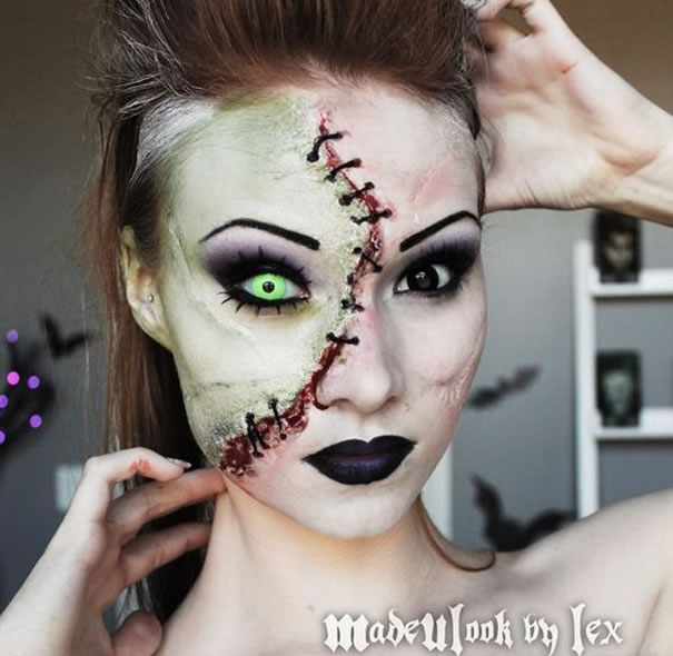 Scariest Halloween Make-up Ideas Face Off (8)