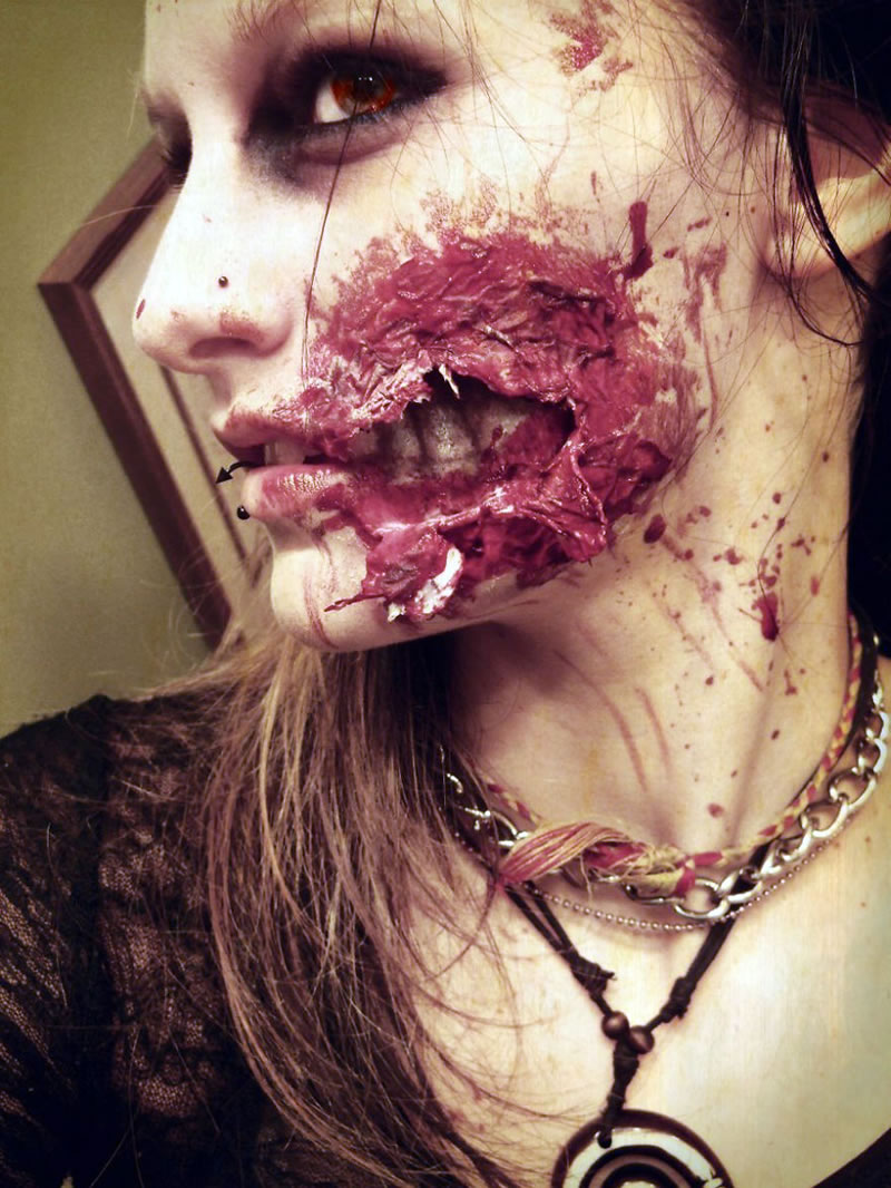 Scariest Halloween Makeup Ideas Face Off (6)