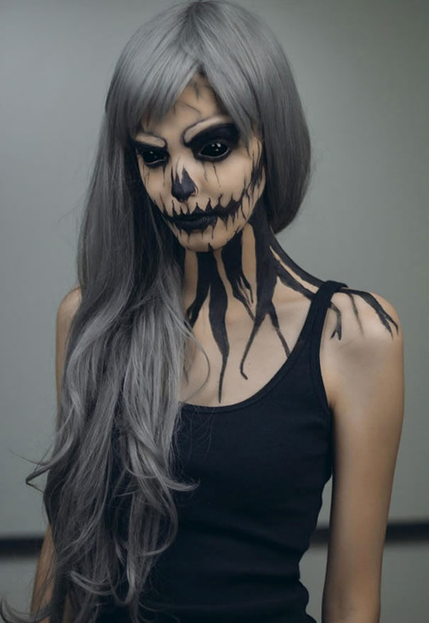 Scariest Halloween Makeup Ideas Face Off (7)