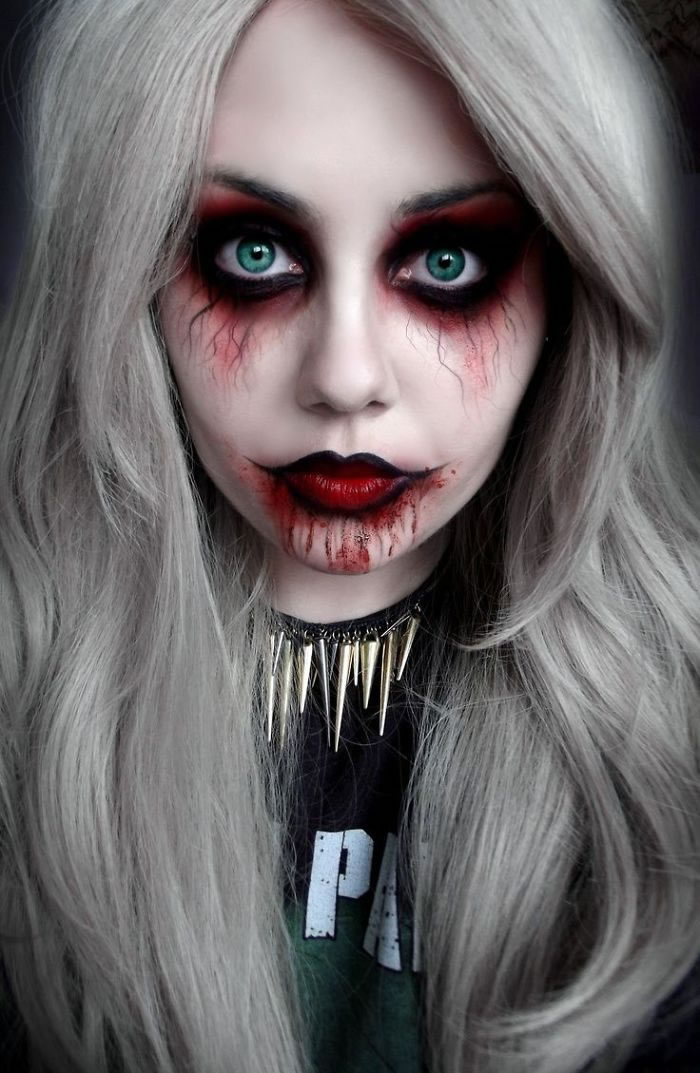 Scariest Halloween Makeup Ideas Face Off (8)