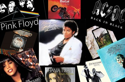 Do You Know The Top 10 Selling Music Albums Of All Time